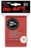 UP Pro-Matte Sleeves Japan red (60 ct.)